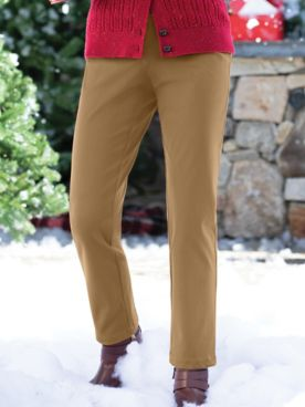 Cotton Bi-Stretch L-Pocket Pants