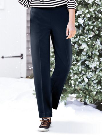 Bi-Stretch Modern Pull-On Pants - Image 1 of 4
