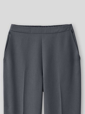 Washable Wool-Blend Pull-On Pants - Image 1 of 4