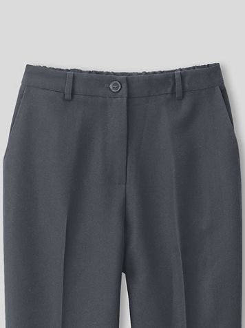 Washable Wool-Blend Fly-Front Pants - Image 1 of 4