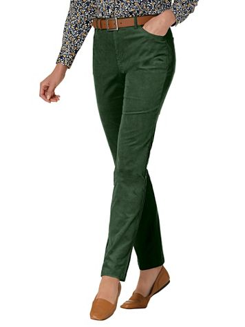 Stretch Pincord Pull-On Pants - Image 1 of 9