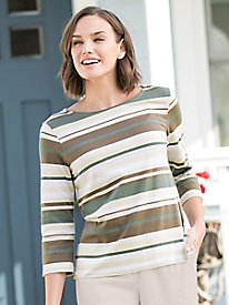 Patio Stripe Tee