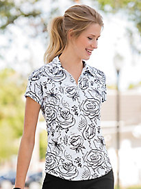 Bette & Court Floral Golf Polo
