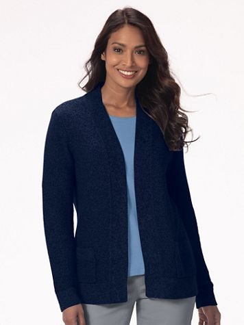 Seedstitch Open-Front Cardigan - Image 1 of 1