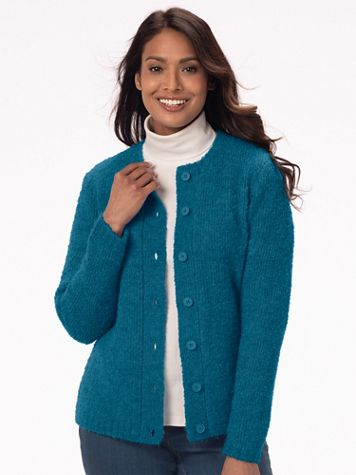 Cuddle Boucle Cardigan - Image 1 of 9