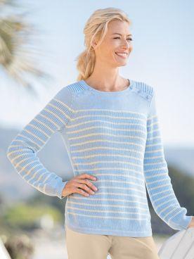 Nautical Stripe Pullover