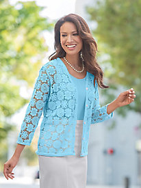 Crochet Lace Cardigan