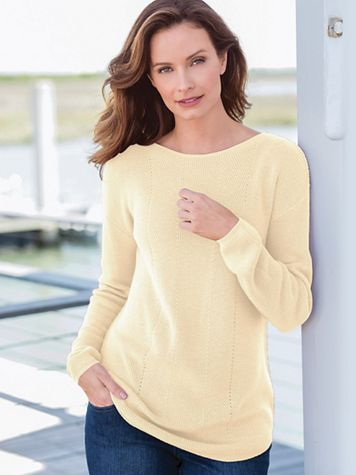Soft & Easy Tunic Sweater