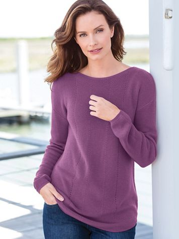 Soft & Easy Tunic Sweater - Image 1 of 2