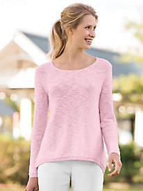 Summer Cotton Pullover Sweater