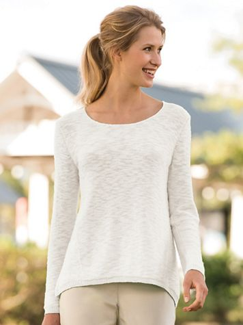 Summer Cotton Pullover Sweater - Image 3 of 3