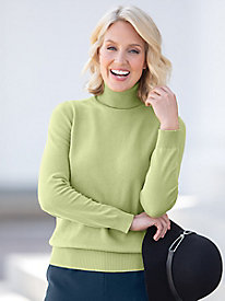 Fine Gauge Layering Turtleneck