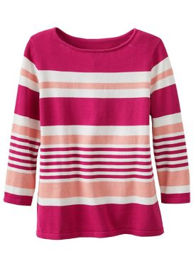 Boulevard Stripe Sweater