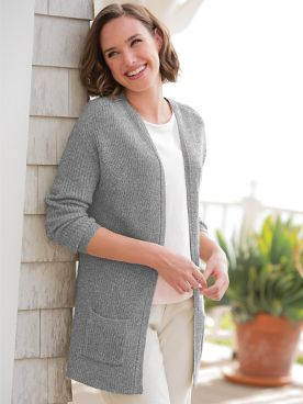 Spindrift Shaker Cardigan Sweater