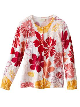Summer Floral Cardigan
