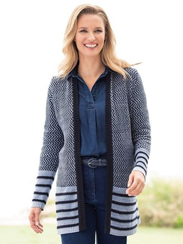 Denim Friendly Cardigan - Image 3 of 3