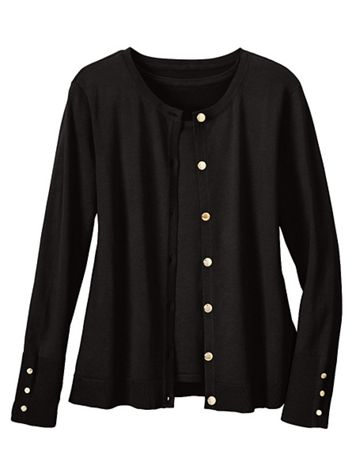 Madison Button-Front Cardigan - Image 1 of 1