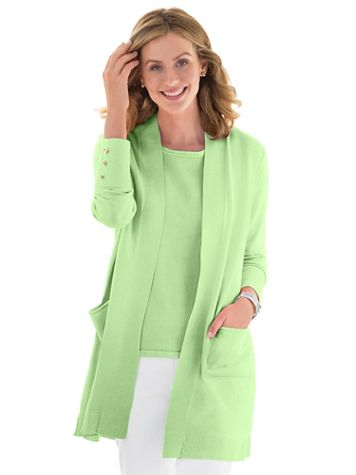 Madison Long Open Cardigan - Image 1 of 6