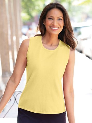 Madison Sleeveless Shell - Image 1 of 6