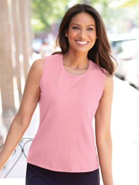 Madison Sleeveless Shell