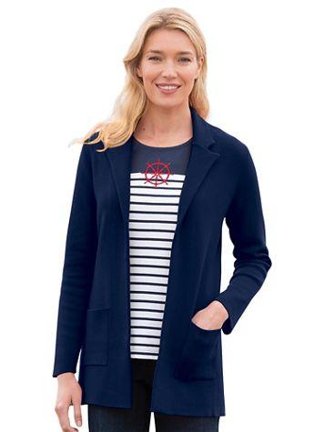 Milano-Stitch Sweater Blazer - Image 1 of 5