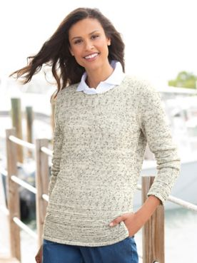 Relaxed Textured Sweater