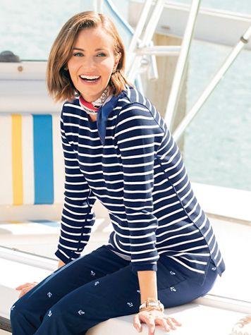 Reversible Stripe Sweater - Image 5 of 5