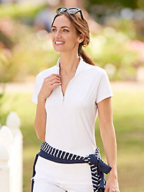 Bette & Court Golf Zip Mock
