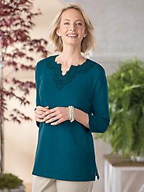 Lace Embellished Tunic