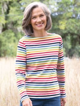 Simply Stripes Tee