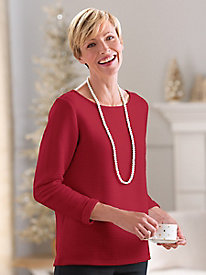 Ottoman Textured Topper Sweater