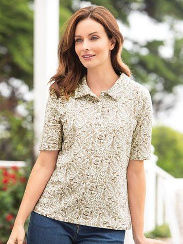 Swirl Polo Shirt - Image 1 of 3