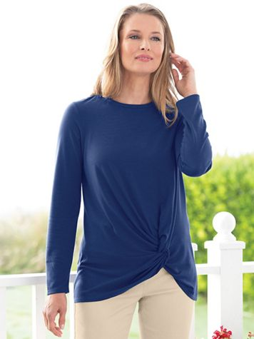 Twist Front Tunic - Image 3 of 3