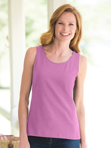 Prima Cotton Ultimate Scoopneck Tank - Image 1 of 16