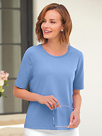 Prima Cotton Ultimate Elbow-Sleeve Tee