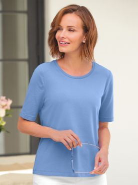 Elbow-Sleeve Prima Cotton Ultimate Layering Tee