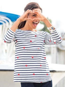 Joules® Harbor Light Swing Tunic