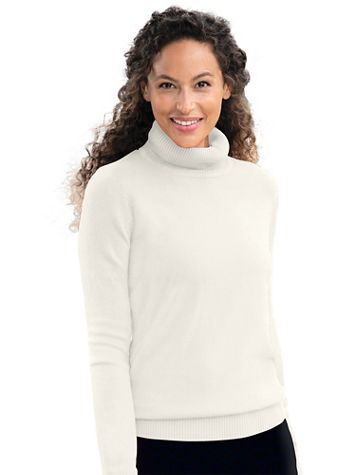 Spindrift Turtleneck Sweater