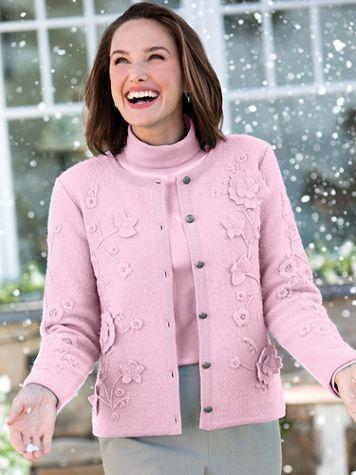 Limited-Edition Appliquéd Boiled-Wool Jacket - Image 2 of 2