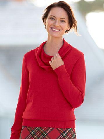 Hepburn Cowlneck Sweater - Image 1 of 6