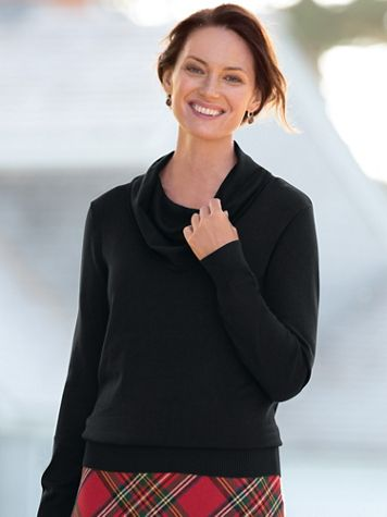 Hepburn Cowlneck Sweater - Image 1 of 4