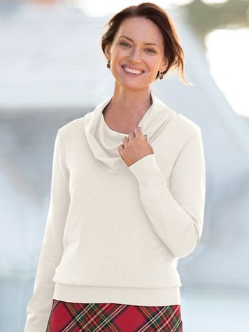Hepburn Cowlneck Sweater - Image 2 of 2