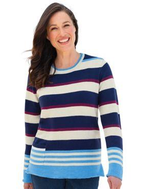 Comfy Stripe Sweater