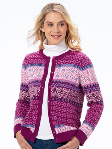 Autumn Chill Cotton Cardigan Sweater - Image 3 of 3