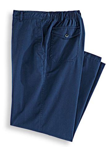 John Blair Relaxed-Fit Back-Elastic Casual Pants - Image 2 of 2
