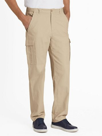 Adjust-A-Band® Wrinkle- and Stain-Resistant Cargo Pant - Image 1 of 6