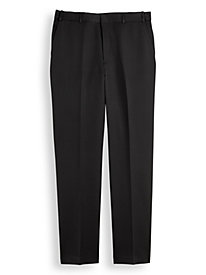 Adjust-A-Band Neat-Fit Gabardine Dress Pants by Blair