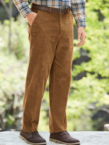 1950s Men's Pants, Trousers, Shorts | Rockabilly Jeans, Greaser Styles Adjust-A-Band Neat-Fit® Cords $29.99 AT vintagedancer.com