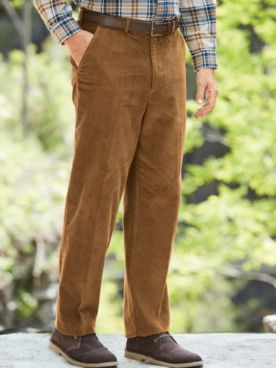 Adjust-A-Band® Neat-Fit® Corduroy Pants