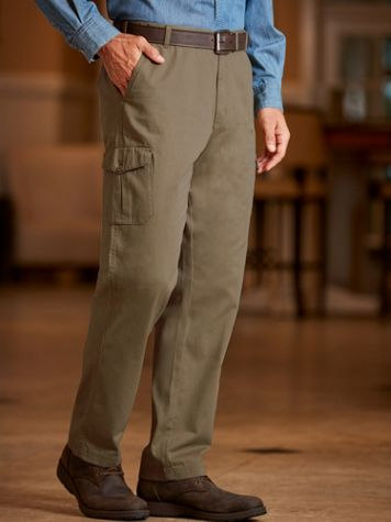Scandia Woods Adjust-A-Band® Neat Fit® Cargo Pants - Image 1 of 4